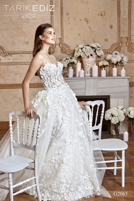 Strasbourg (G2065) Wedding dress by Tarik Ediz: White