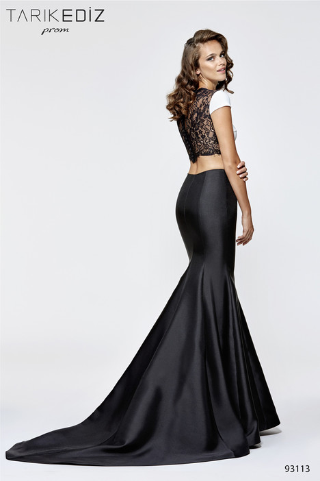 93113 (back) Prom dress by Tarik Ediz: Prom