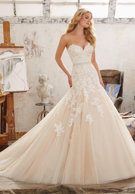 Wedding dress by Morilee Bridal