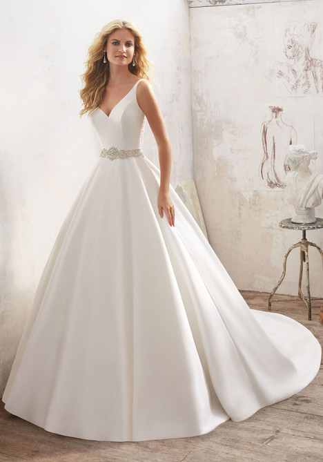 Style 8123 gown from the 2017 Morilee Bridal collection, as seen on dressfinder.ca