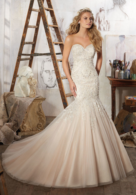 8125 gown from the 2017 Morilee Bridal collection, as seen on dressfinder.ca