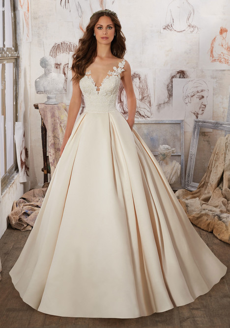 Style 5501 gown from the 2017 Morilee Blu collection, as seen on dressfinder.ca