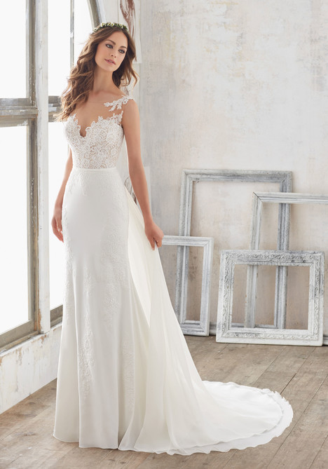 Style 5503 gown from the 2017 Morilee Blu collection, as seen on dressfinder.ca