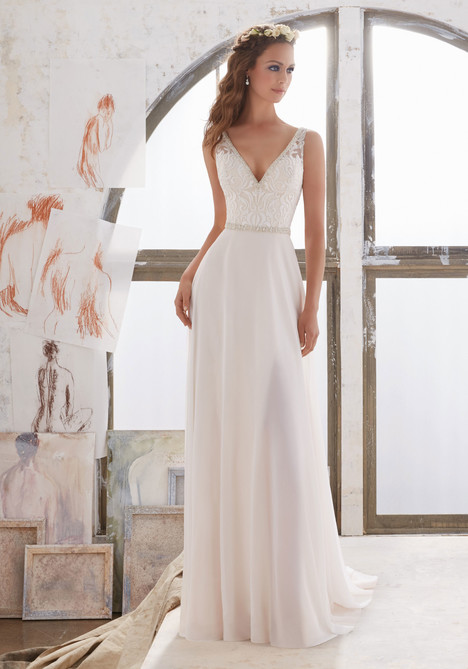 Style 5505 gown from the 2017 Morilee Blu collection, as seen on dressfinder.ca