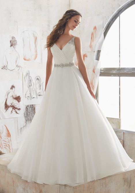 5507 gown from the 2017 Morilee Blu collection, as seen on dressfinder.ca
