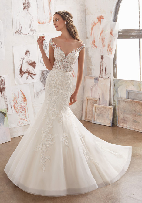 5509 Wedding                                          dress by Mori Lee: Blu