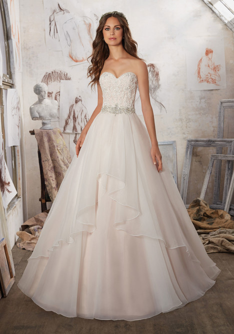 Style 5511 gown from the 2017 Morilee Blu collection, as seen on dressfinder.ca
