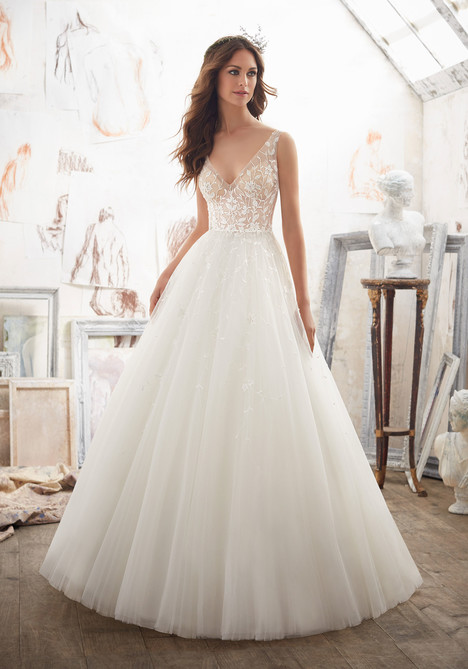 5515 Wedding                                          dress by Mori Lee: Blu