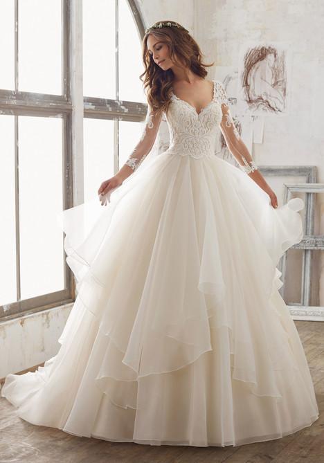 5517 Wedding                                          dress by Mori Lee: Blu