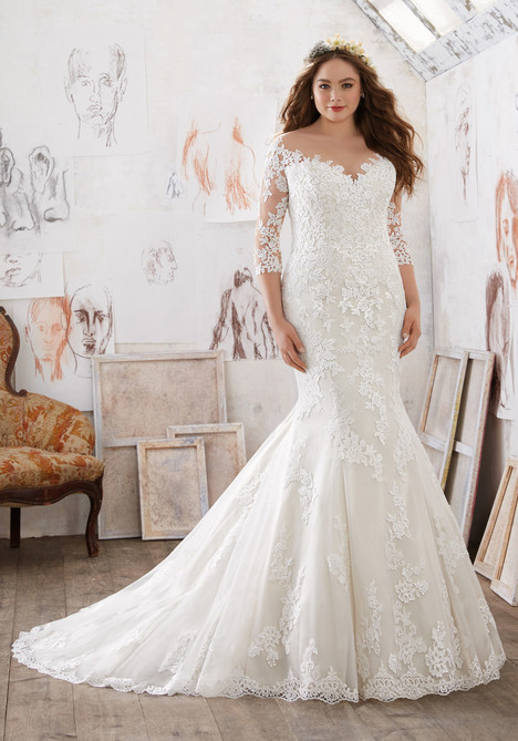3212 Wedding                                          dress by Mori Lee: Julietta