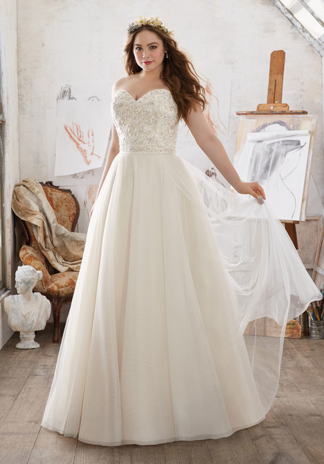 3213 Wedding                                          dress by Mori Lee: Julietta