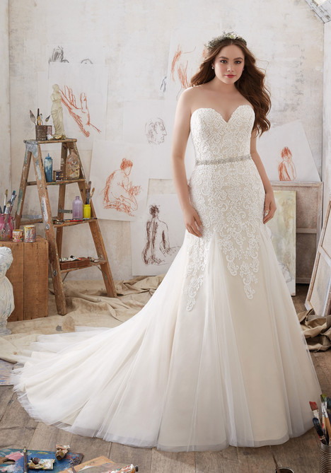 3215 Wedding                                          dress by Mori Lee: Julietta