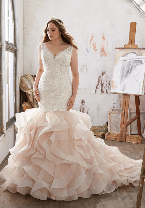 3216 Wedding                                          dress by Mori Lee: Julietta