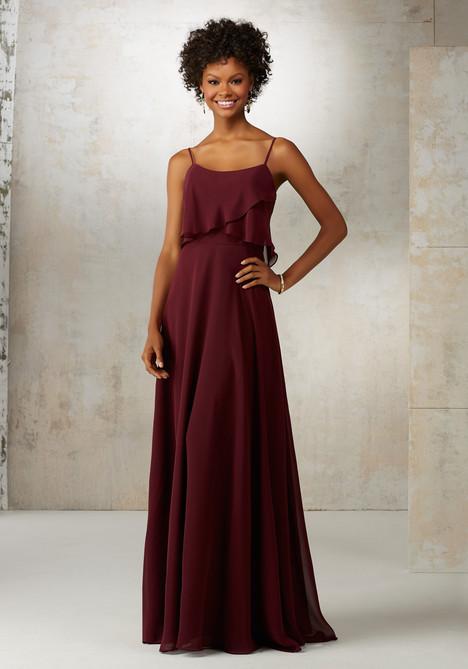 21515 (bordeaux) Bridesmaids                                      dress by Mori Lee : Bridesmaids