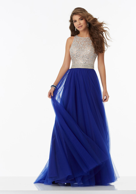 99056 (royal) Prom                                             dress by Mori Lee Prom