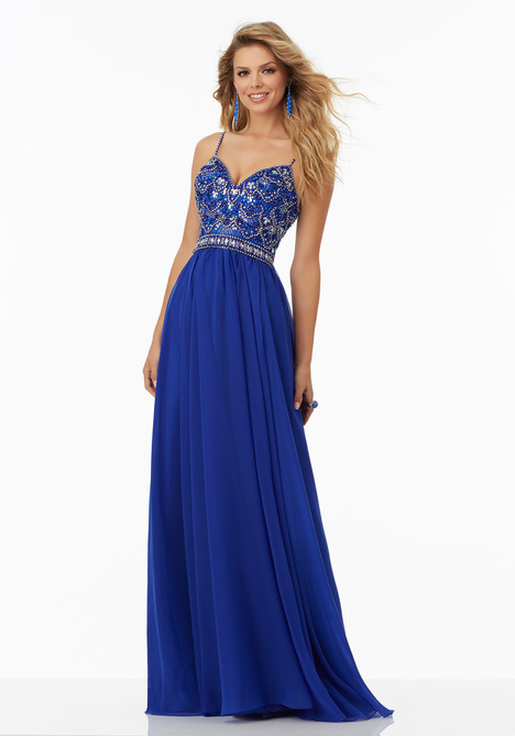 99129 (royal) Prom                                             dress by Mori Lee Prom