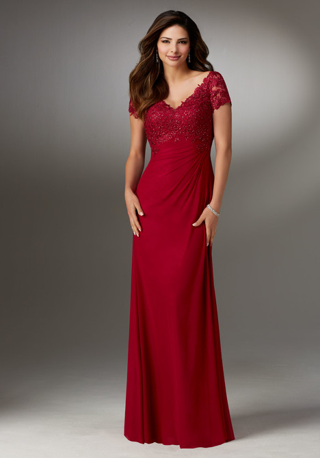 Style 71513, (cranberry) gown from the 2017 MGNY Madeline Gardner collection, as seen on dressfinder.ca