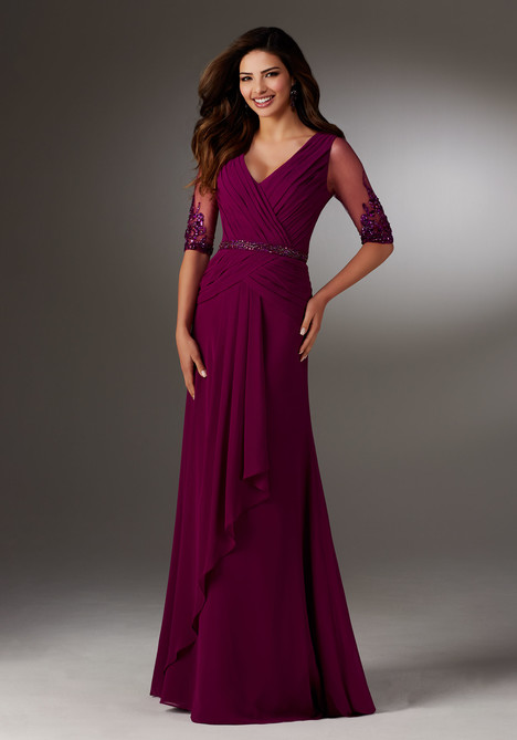 Style 71514, (mulberry) gown from the 2017 MGNY Madeline Gardner collection, as seen on dressfinder.ca