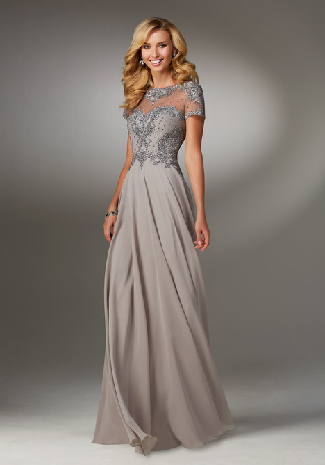 71522 (pewter) Mother of the Bride                              dress by MGNY Madeline Gardner