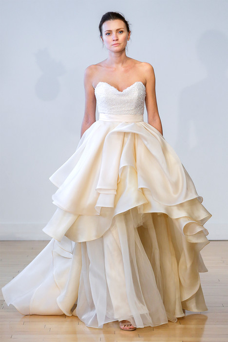 Olea (top) + Paeonia (skirt) Wedding                                          dress by Carol Hannah