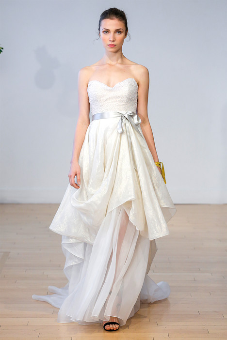 Olea (top) + Solanum (skirt) Wedding                                          dress by Carol Hannah