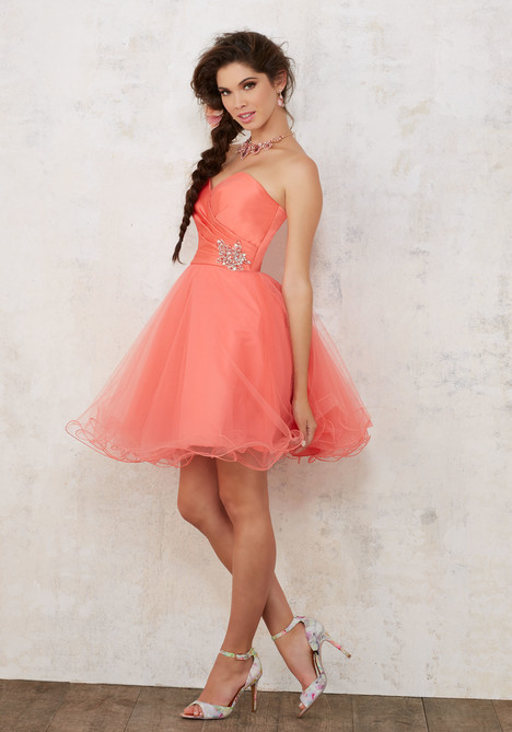 9441 (coral) Prom                                             dress by Mori Lee : Damas