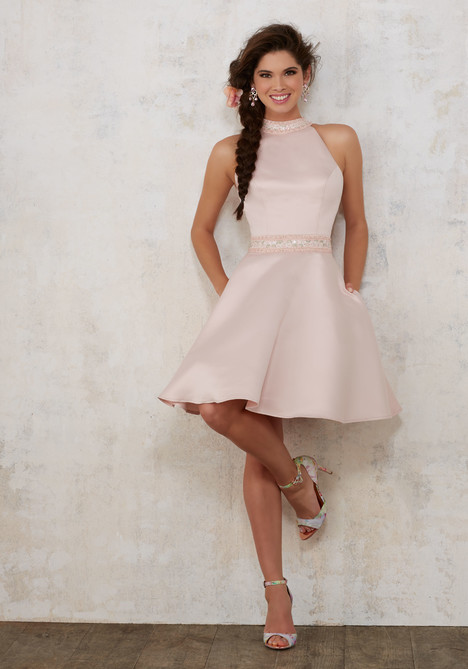 9445 (blush) Prom                                             dress by Morilee Damas