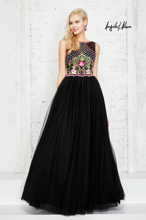 771011 (black) Prom                                             dress by Angela & Alison Prom