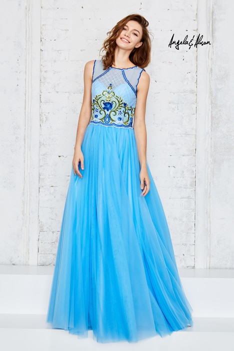771011 (sky blue) Prom                                             dress by Angela & Alison Prom