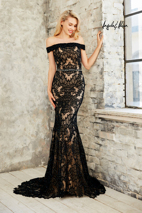 771019 (black) Prom                                             dress by Angela & Alison Prom