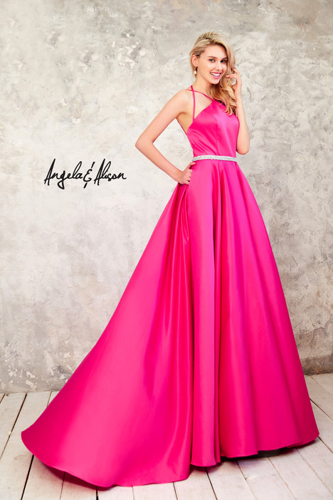 771024 (fuchsia) Prom                                             dress by Angela & Alison Prom