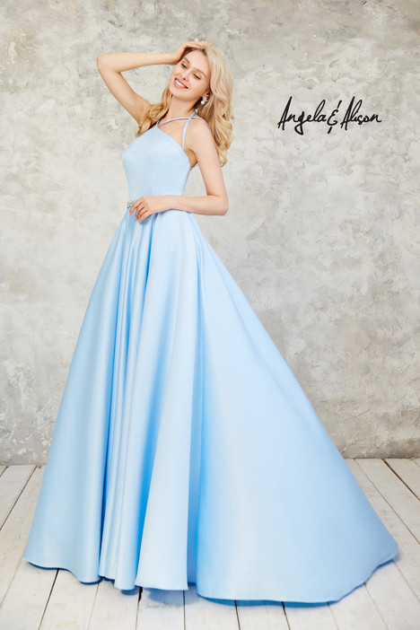 771024 (baby blue) Prom                                             dress by Angela & Alison Prom