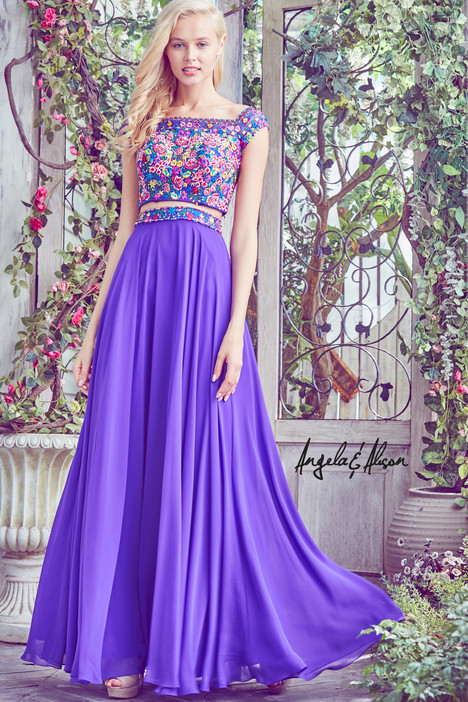 771032 (majestic purple) Prom                                             dress by Angela & Alison Prom