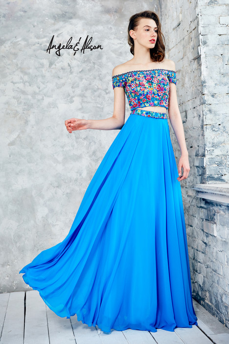 771032 (turquoise) Prom                                             dress by Angela & Alison Prom