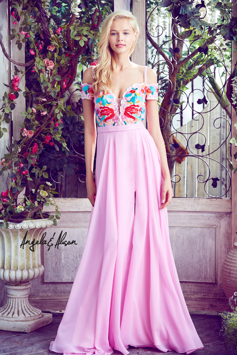 771036 (light pink) gown from the 2017 Angela & Alison Prom collection, as seen on dressfinder.ca