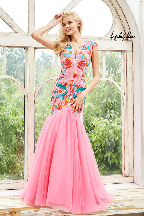 771041 (pink) Prom                                             dress by Angela & Alison Prom