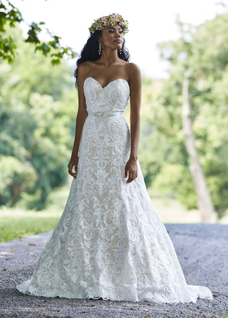 10453 Wedding                                          dress by Ashley & Justin Bride