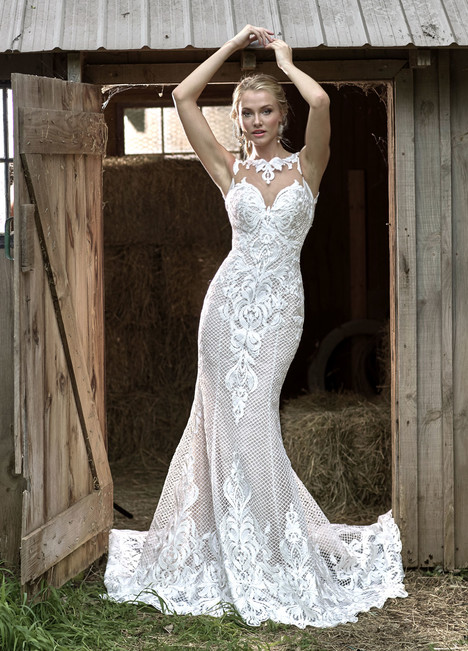 10455 Wedding                                          dress by Ashley & Justin Bride