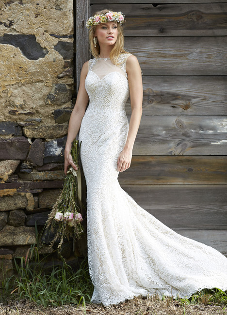 10457 Wedding                                          dress by Ashley & Justin Bride
