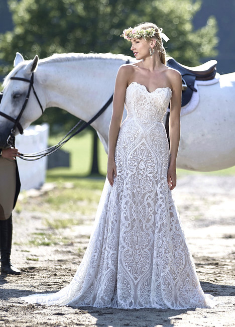 10460 Wedding                                          dress by Ashley & Justin Bride