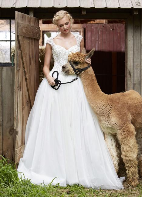 10463 Wedding                                          dress by Ashley & Justin Bride