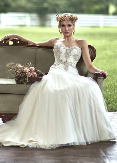 10464 Wedding                                          dress by Ashley & Justin Bride