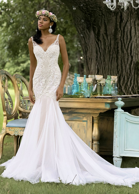 10467 Wedding                                          dress by Ashley & Justin Bride