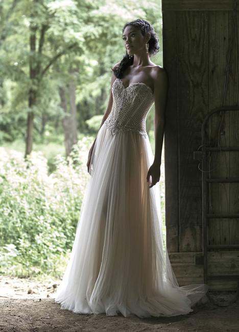 10469 Wedding                                          dress by Ashley & Justin Bride