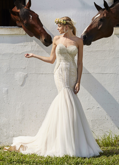 10474 Wedding                                          dress by Ashley & Justin Bride