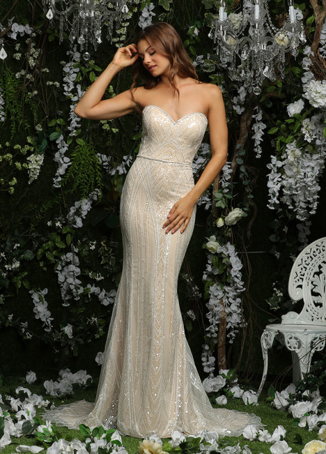 10477 Wedding                                          dress by Ashley & Justin Bride