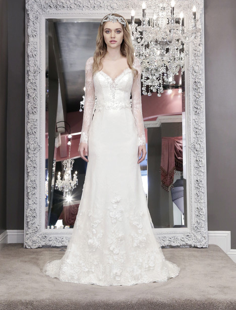 Giovanna (8466) Wedding                                          dress by Winnie Couture : Blush
