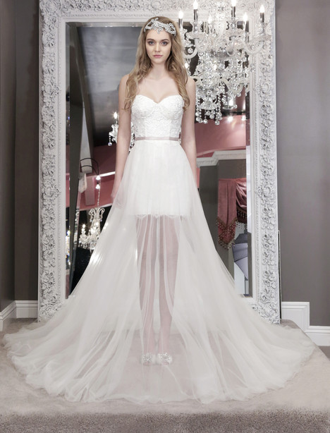 Nicola (8469) (+over skirt) Wedding                                          dress by Winnie Couture : Blush