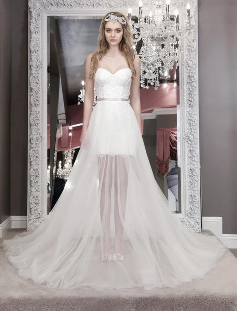 Nicola (8469) (+over skirt) Wedding                                          dress by Winnie Couture : Blush
