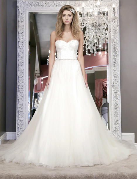 Sistine (8470) Wedding                                          dress by Winnie Couture : Blush